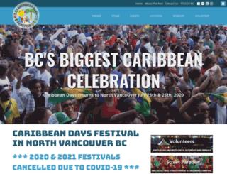 caribbeandays.ca screenshot