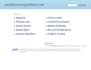 caribbeanexperience.biz screenshot