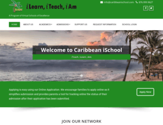 caribbeanischool.com screenshot