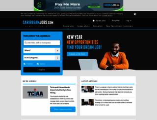 caribbeanjobs.com screenshot