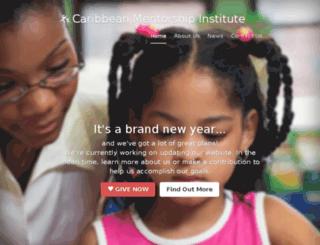caribbeanmentors.org screenshot