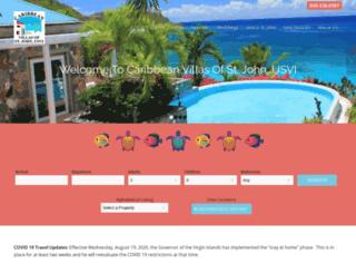 caribbeanvilla.com screenshot