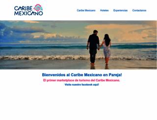 caribemexicano.com screenshot