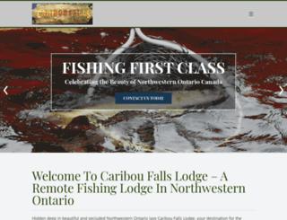 cariboufalls.com screenshot