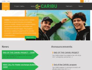 caribu.be screenshot