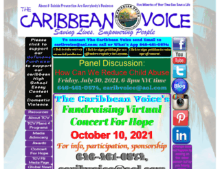 caribvoice.org screenshot