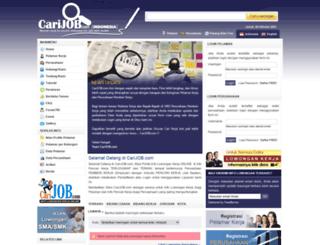carijob.co.id screenshot