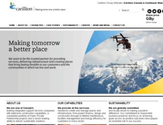 carillion.ca screenshot