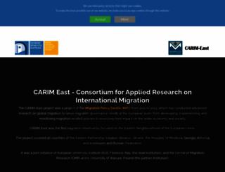 carim-east.eu screenshot