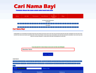 carinamabayi.com screenshot