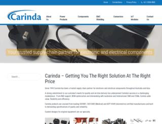 carinda.com.au screenshot