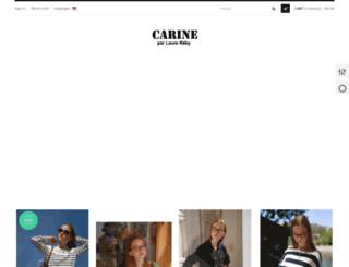 carine-paris.com screenshot