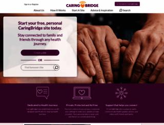 caringbridge.org screenshot