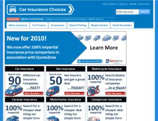 carinsurance-choices.com screenshot