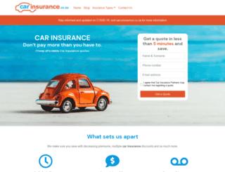 carinsurance.co.za screenshot