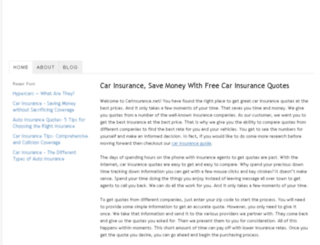 carinsurance.net screenshot