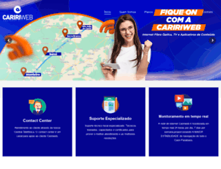 caririweb.com.br screenshot