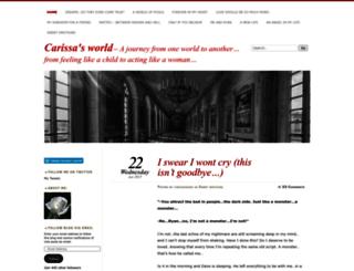 carissaprovenzano.wordpress.com screenshot