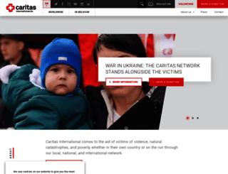 caritas-int.be screenshot