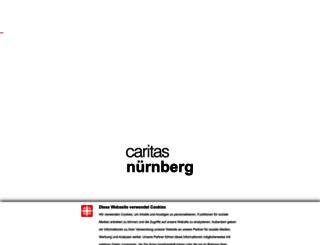 caritas-nuernberg.de screenshot