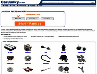 carjunky.com screenshot