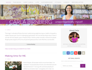 carlabirnberg.com screenshot