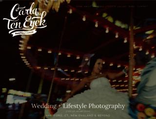 carlateneyck.com screenshot
