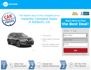 carlease.1800carshow.com screenshot