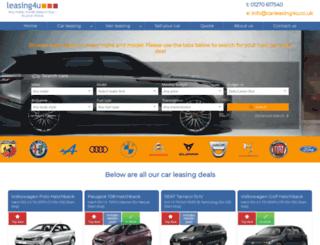 carleasing4u.co.uk screenshot