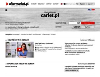 carlet.pl screenshot