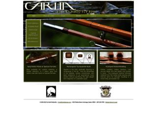 carlinbamboo.com screenshot