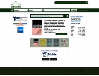 carlisle.mvlc.org screenshot