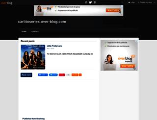 carlitoseries.overblog.com screenshot
