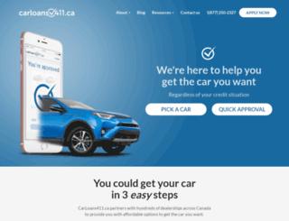 carloans411.ca screenshot