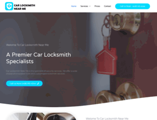 carlocksmithnearme.com screenshot