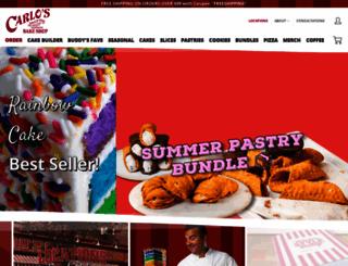 carlosbakery.com screenshot