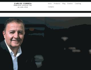 carloscorreacoaching.com screenshot