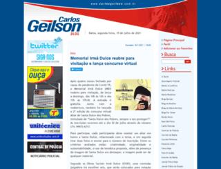 carlosgeilson.com.br screenshot