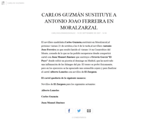 carlosguzmangonzalez.blogia.com screenshot
