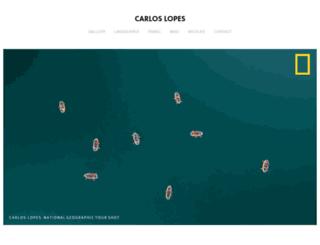 carloslopes.fr screenshot