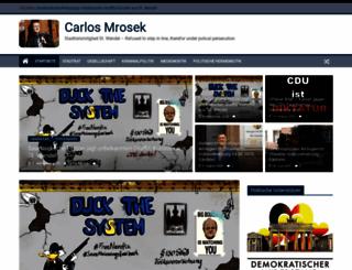 carlosmrosek.com screenshot