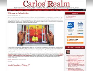 carlosrealm.com screenshot