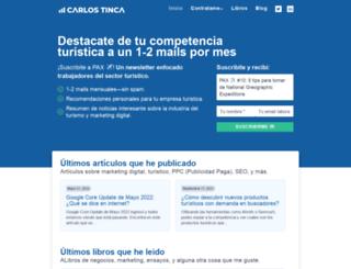 carlostinca.com screenshot