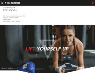 carlsbad-los-coches.titleboxingclub.com screenshot