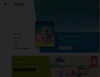 carlsen.de screenshot