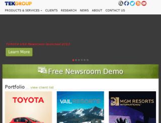 carlsonmedia.tekgroup.com screenshot