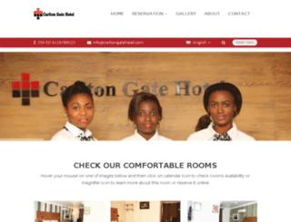 carltongatehotelibadan.com screenshot
