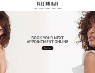 carltonhairinternational.com screenshot