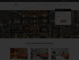 carltonhotelistanbul.com screenshot