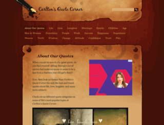 carltons-quote-corner.weebly.com screenshot